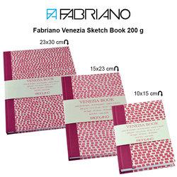 Fabriano - Fabriano Venezia Sketch Book 200g 48 Yaprak