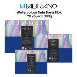 Fabriano - Fabriano Watercolour Sulu Boya Blok 20 Yaprak 300g