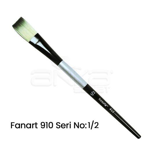 Fanart 910 Seri Düz Kesik Uçlu Fırça