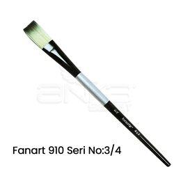 Fanart 910 Seri Düz Kesik Uçlu Fırça - Thumbnail