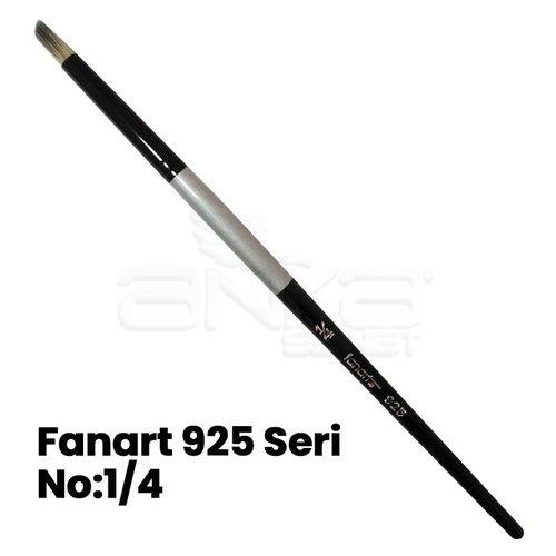 Fanart 925 Seri Kesik Yuvarlak (Geyik Ayağı) Uçlu Fırça