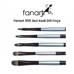 Fanart - Fanart 955 Seri Kedi Dili Fırça
