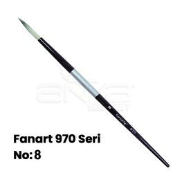 Fanart 970 Seri Yuvarlak Uçlu Fırça - Thumbnail