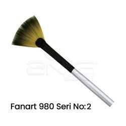 Fanart - Fanart 980 Seri Yelpaze Fırça (1)