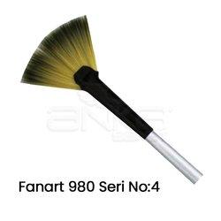 Fanart 980 Seri Yelpaze Fırça - Thumbnail