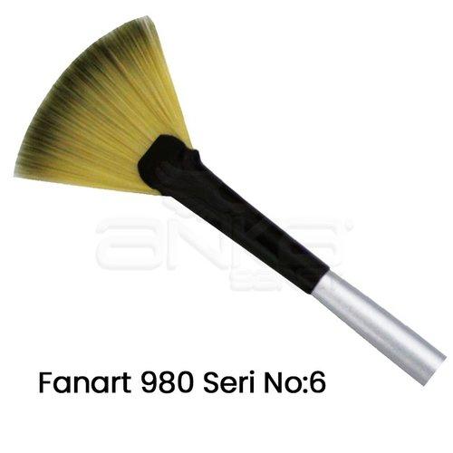 Fanart 980 Seri Yelpaze Fırça