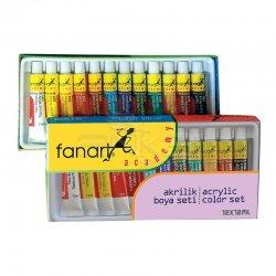 Fanart - Fanart Academy Akrilik Boya Seti 12x12ml