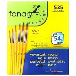 Fanart - Fanart Dove Fırça Seti 54 adet (1)