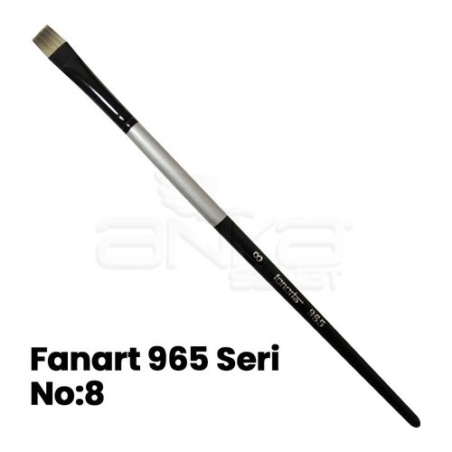 Fanart 965 Seri Düz Kesik Uçlu Fırça