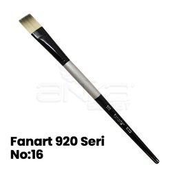 Fanart 920 Seri Kesik Uçlu Gölgeleme Fırçası - Thumbnail
