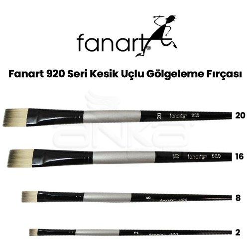 Fanart 920 Seri Kesik Uçlu Gölgeleme Fırçası