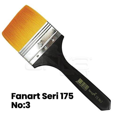 Fanart Seri 175 Sentetik Astar Fırçası