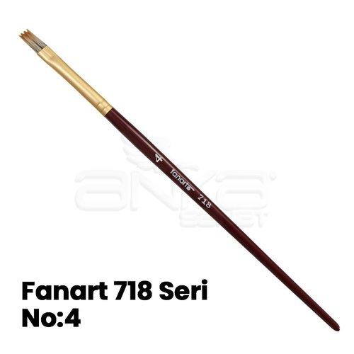 Fanart 718 Seri Tarak Fırça