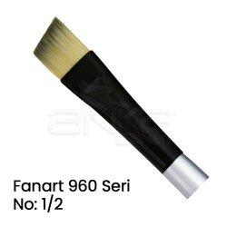 Fanart - Fanart 960 Seri Yan Kesik Uçlu Fırça (1)