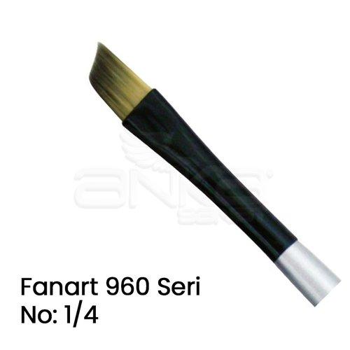 Fanart 960 Seri Yan Kesik Uçlu Fırça