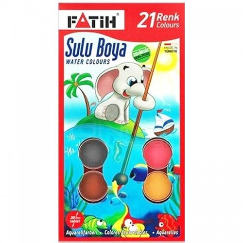 Fatih Sulu Boya 30mm 21 Renk K-21