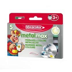 Fibracolor - Fibracolor Metalmax Keçeli Boya Takımı 5 Renk