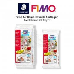 Fimo - Fimo Air Basic Hava İle Sertleşen Modelleme Kili Beyaz