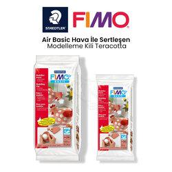 Fimo - Fimo Air Basic Hava İle Sertleşen Modelleme Kili Teracotta