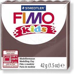 Fimo - Fimo Kids Polimer Kil 42g No:7 Kahve