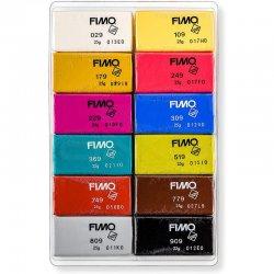 Fimo - Fimo Leather Effect Polimer Kil Seti 12 Parça 8013 C12-2 (1)