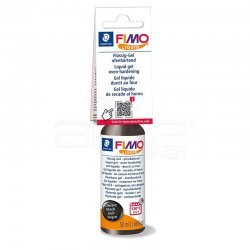 Fimo - Fimo Liquid Gel Siyah 50ml 8050-9