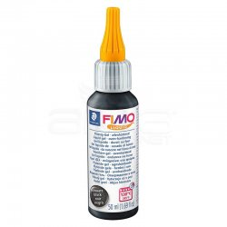 Fimo - Fimo Liquid Gel Siyah 50ml 8050-9 (1)