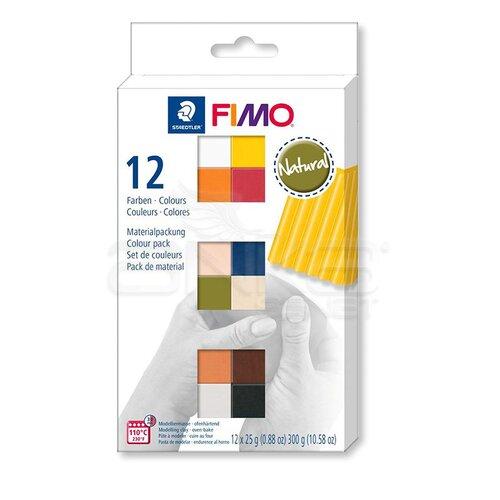 Fimo Polimer Kil Seti 12 Parça Natural 8023 C12-4