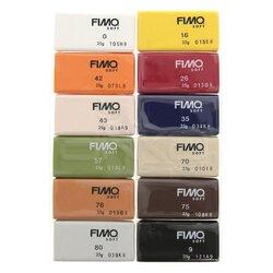 Fimo - Fimo Polimer Kil Seti 12 Parça Natural 8023 C12-4 (1)