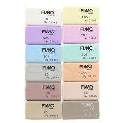 Fimo - Fimo Polimer Kil Seti 12 Parça Pastel 8023 C12-3 (1)