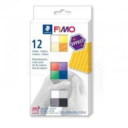 Fimo - Fimo Polimer Kil Seti Effect 12 Parça Basic 8013 C12-1