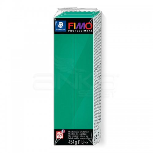 Fimo Professional Polimer Kil 454g No:500 True Green