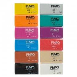 Fimo - Fimo Professional Polimer Kil Seti 12 Parça Basic 8043 C12-1 (1)