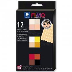 Fimo - Fimo Professional Polimer Kil Seti 12 Parça Doll Art 8073 C12-1