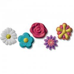 Fimo - Fimo Silikon Desen Kalıbı Çiçekler 8725 22 (1)