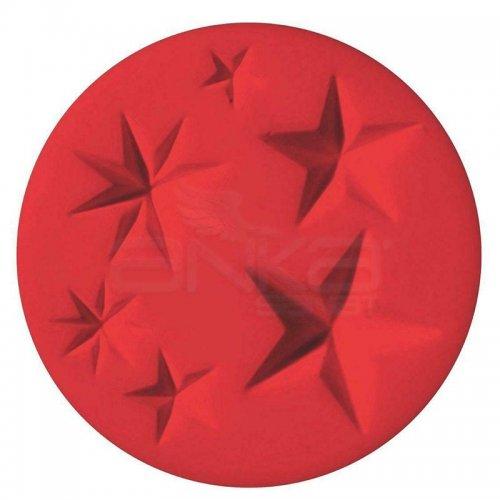 Fimo Silikon Desen Kalıbı Yıldızlar 8725 20