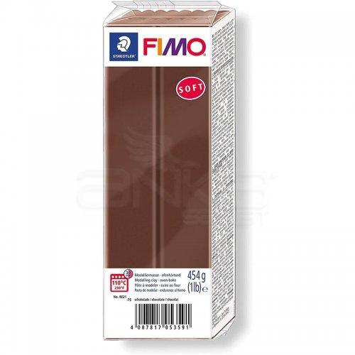 Fimo Soft Polimer Kil 454g No:75 Chocolate