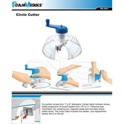 FoamWerks - FoamWerks Strafor Kesme Aleti-Foamboard Circle Cutter-WA 8001 (1)