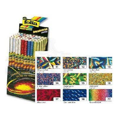 Folia Holografik Folyo 40x100cm No:310 50 Rulo