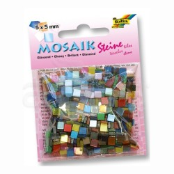 Folia - Folia Mozaik Renkli 5x5cm 700 Adet-59109