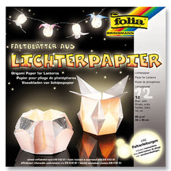 Folia - Folia Origami Fener Kağıdı 30x30cm Tabakası Beyaz 80g No:42300 (1)