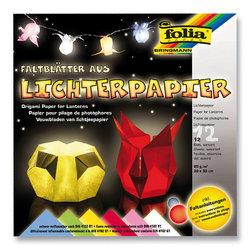 Folia - Folia Origami Fener Kağıdı 30x30cm Tabakası 6 Renk 80g No:42309 (1)