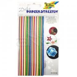 Folia - Folia Quilling Strips Kağıt Kıvırma Şeritleri 400 Adet 16x0.3cm Kod:1290 (1)