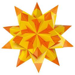 Folia - Folia Star Kit Çift Yüzeyli 20x20cm Yellow/Orange No:314/2020 (1)