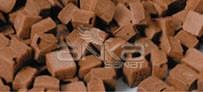 Folia - Folia Transparan Mozaik 10x10mm 190 Adet Kahverengi 57285