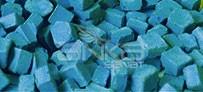 Folia - Folia Transparan Mozaik 10x10mm 190 Adet Mavi 57234