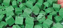 Folia - Folia Transparan Mozaik 10x10mm 190 Adet Yeşil 57254
