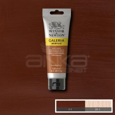 Galeria 120ml Akrilik Boya No:074 Burnt Sienna - 074 Burnt Sienna