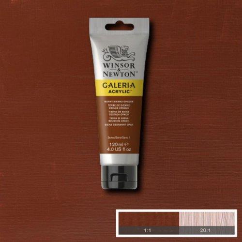 Galeria 120ml Akrilik Boya No:077 Burnt Sienna Opaque - 077 Burnt Sienna Opaque