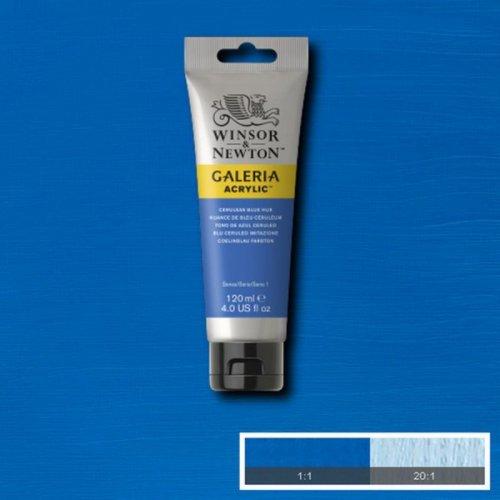 Galeria 120ml Akrilik Boya No:138 Cerulean Blue Hue - 138 Cerulean Blue Hue
